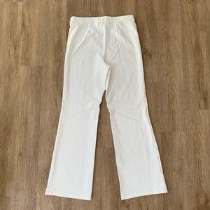 Liz Claiborne Pants - Liz Claiborne NY L white elastic stretch pant